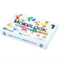 Mokulock | Block Set - Kodomo 60 Pieces