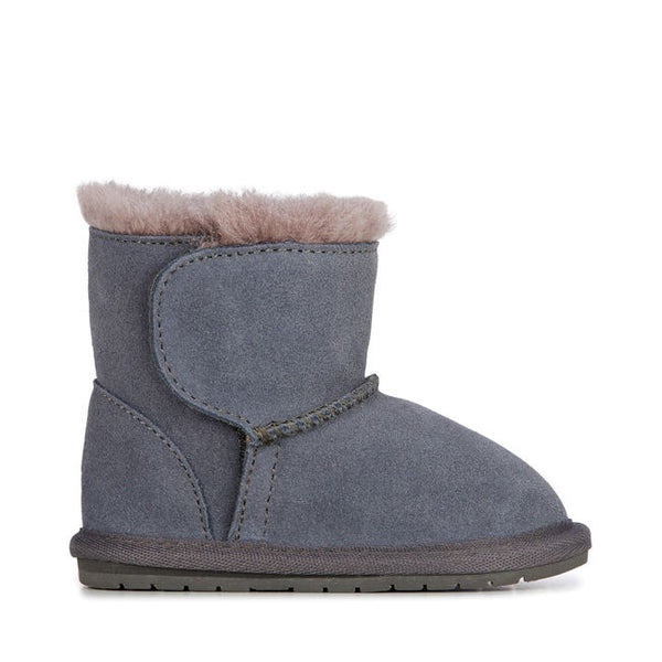 Emu | Toddle Sheepskin Boots - Charcoal