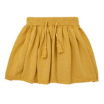 Miann & Co | Mustard Knit Skirt