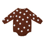 Miann & Co | Rust Spot Long Sleeve Bodysuit