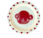 Rice | Melamine Kids Lunch Plate with Monkey Print