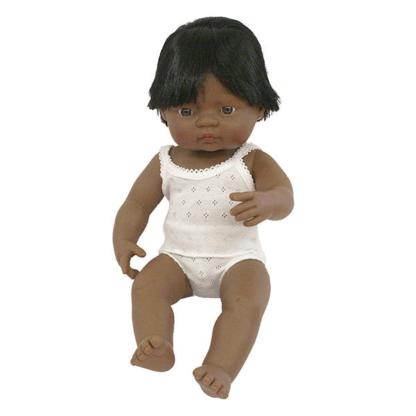 Miniland | Hispanic Boy Doll - 38cm