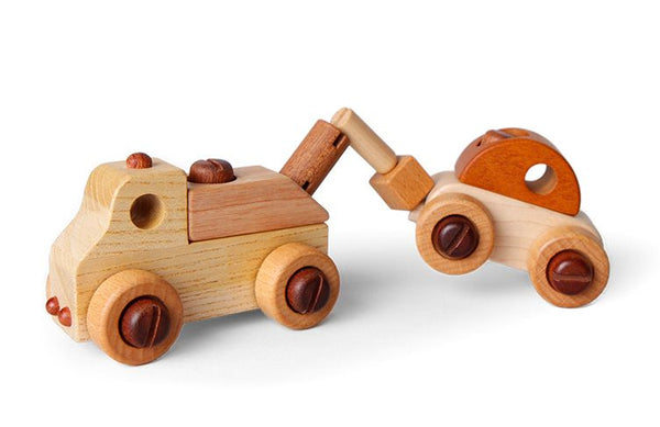 Soopsori | Wooden Car with Tool Kit