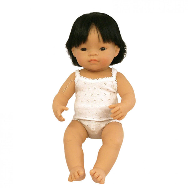 Miniland | Asian Boy Doll - 38cm