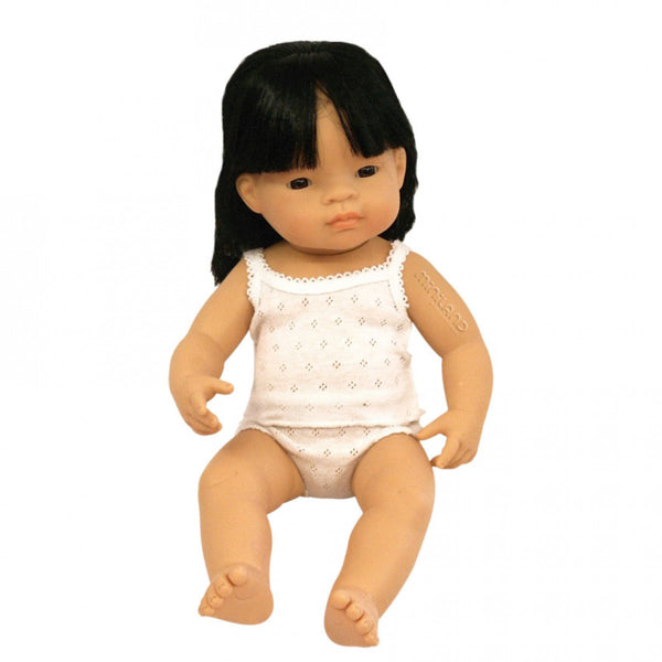Miniland | Asian Girl Doll - 38cm