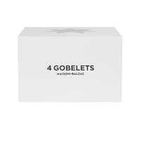 Maison Balzac | Set of 4 Gobelets - Clear Stars