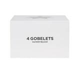 Maison Balzac | Set of 4 Gobelets - Pale Pink