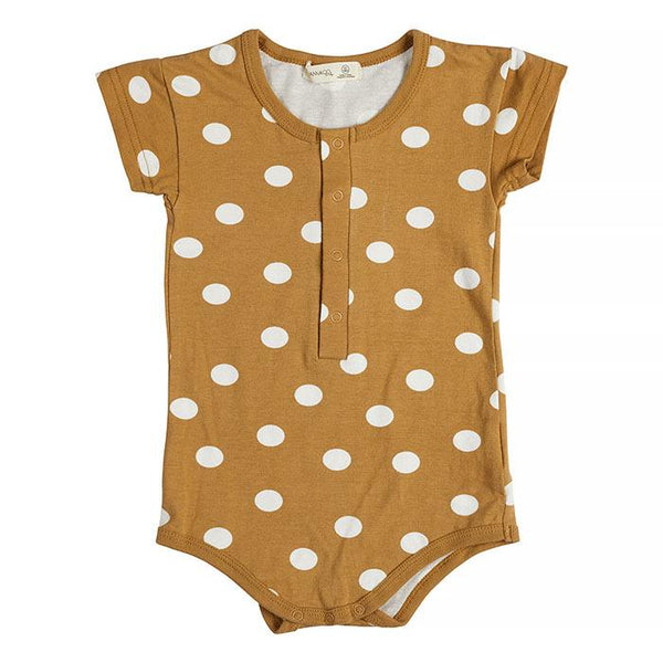 Miann & Co | Golden Spot Short Sleeve Bodysuit
