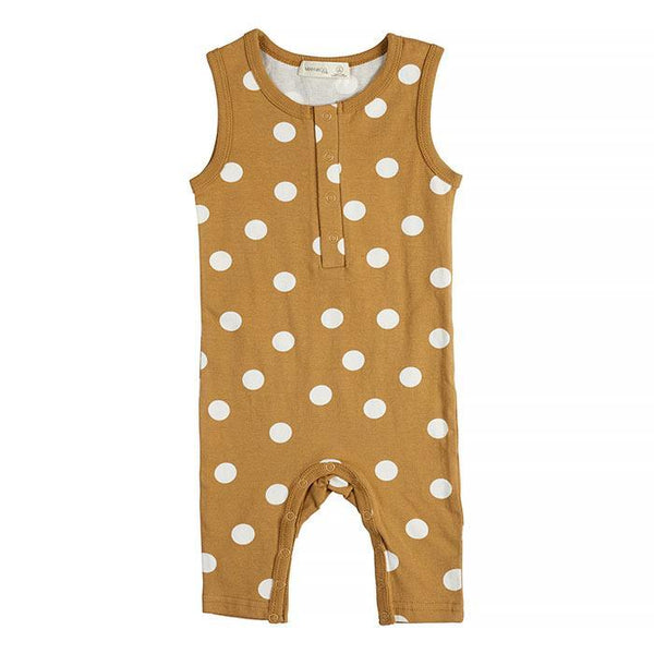 Miann & Co | Golden Spot Sleeveless Suit