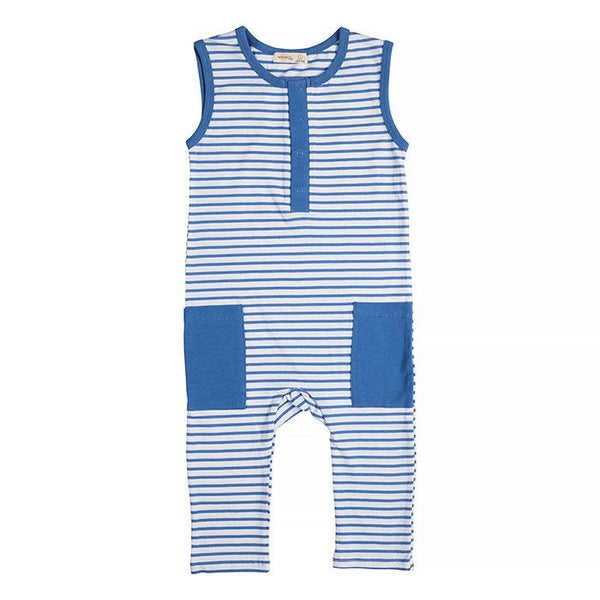 Miann & Co | Ocean Stripe Sleeveless Suit - Baby