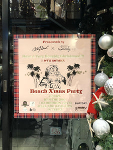 <イベント情報>WTW×sandy magazine vol.11 presents BEACH X'MAS PARTY2018🎄❤️