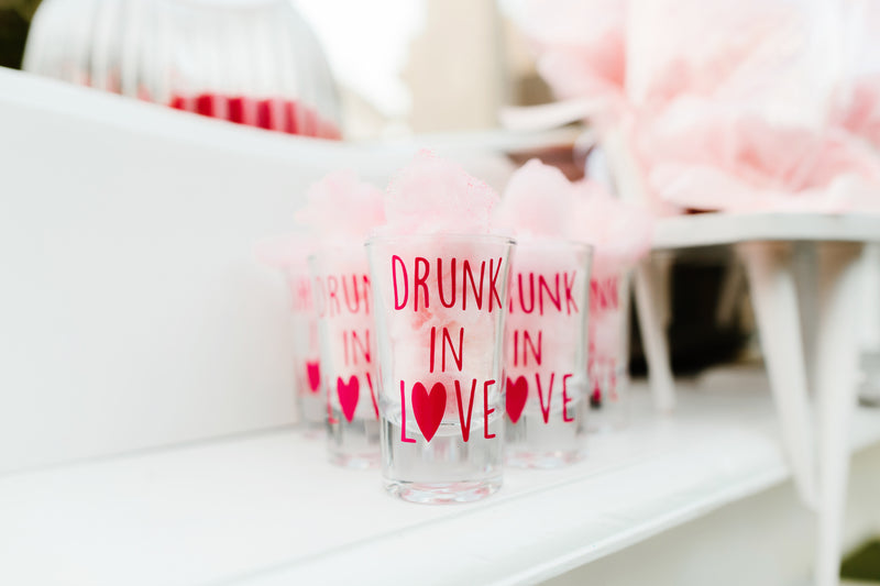 Drunk In Love Shot Glass