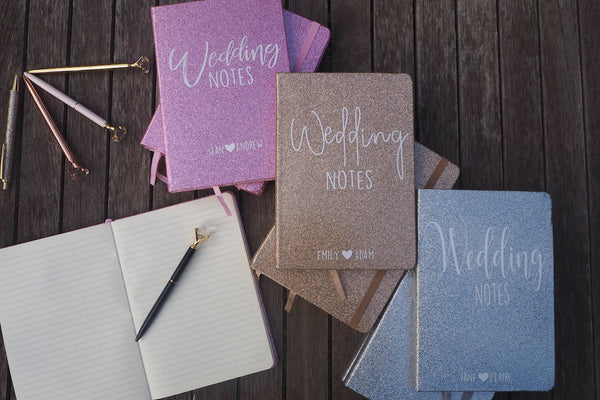 Glitter Notebooks
