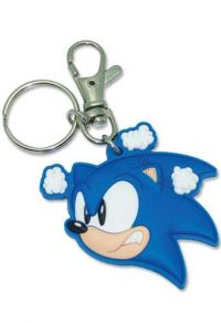 Sonic The Hedgehog: Angry Sonic Head Keychain