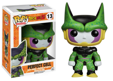 Dragon Ball Z: Perfect Cell Funko Pop! With Pop Protector