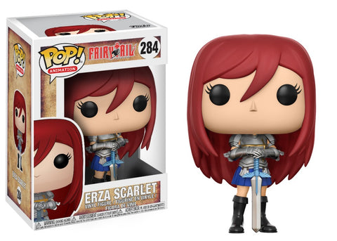 Fairy Tail: Erza Scarlet Funko Pop!