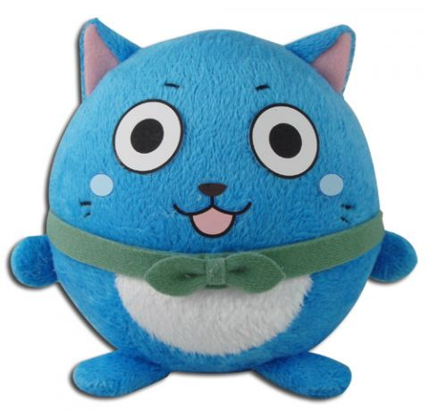 Fairy Tail: Happy 4'' Ball Plush