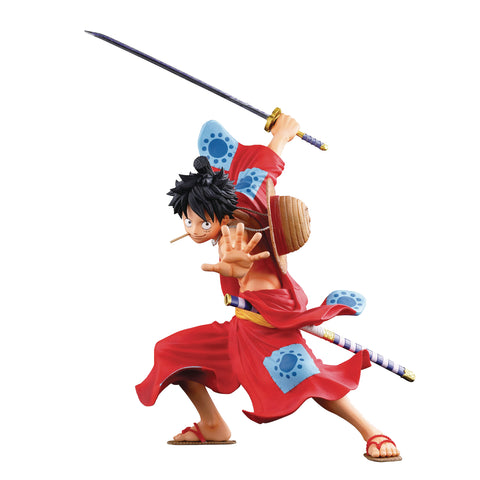 One Piece: Super Stars Monkey D. Luffy World Colosseum 3 Figure