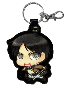 Attack on Titan: SD Eren PU Keychain