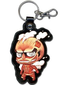 Attack on Titan: SD Titan PU Keychain
