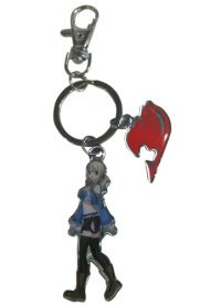Fairy Tail: Lucy & Guild Logo Metal Keychain