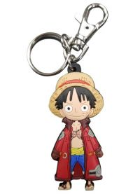 One Piece: SD Luffy Long Coat Keychain