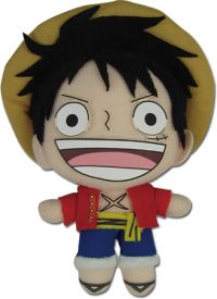 One Piece: Luffy (New World) 5'' Plush