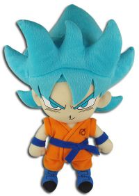 Dragon Ball Super: Super Saiyan Blue Goku 8'' Plush