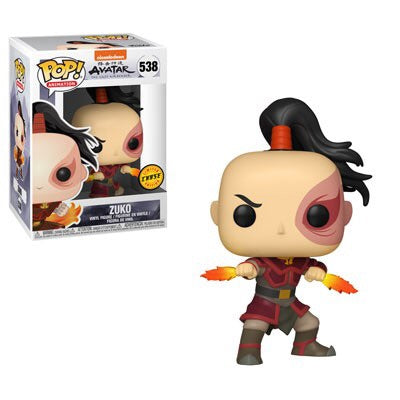 Avatar: The Last Airbender - Zuko (Flame Daggers) (Chase) - Funko Pop! With Pop Protector