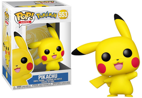 Pokémon: Pikachu Waving Funko Pop!