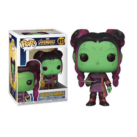 Avengers Infinity War: Young Gamora with Dagger Funko Pop!