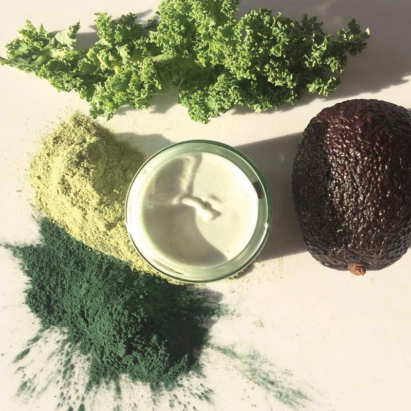 ORGANIC AVOCADO BODY BUTTER (WITH GREEN SPIRULINA)
