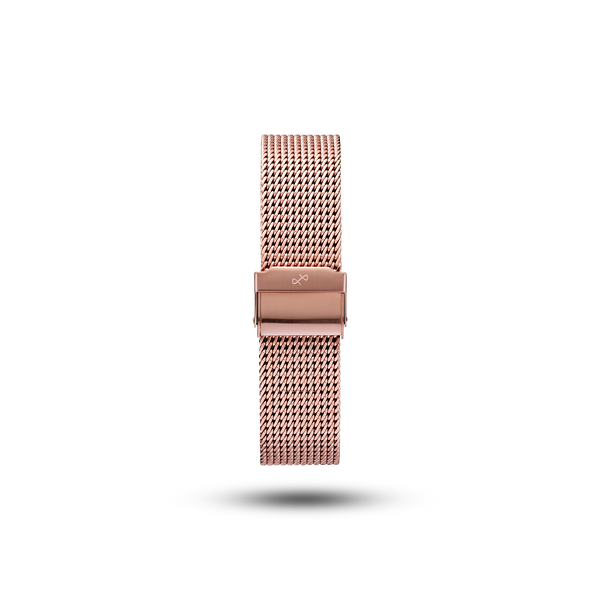 Heavy Mesh Band - Rose Gold