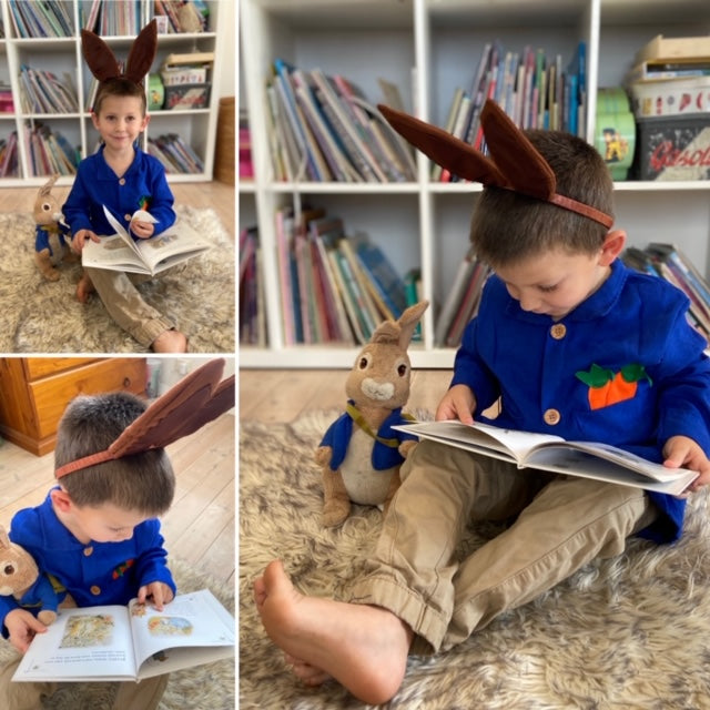 Peter Rabbit Jacket with ears.