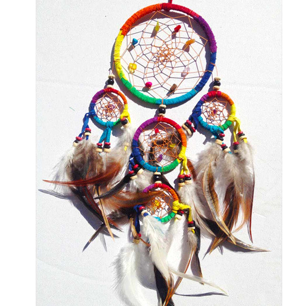11cm Leather Dreamcatchers