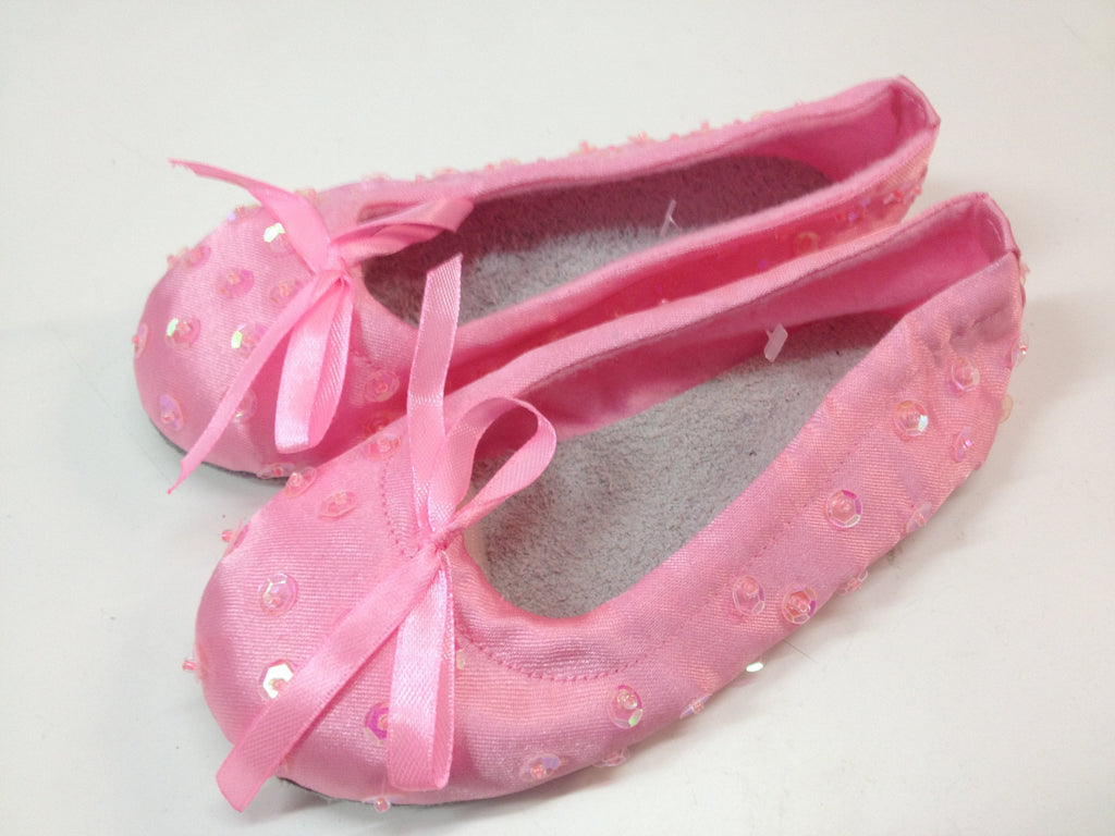 Soft Sequin Ballet Shoes Light Pink