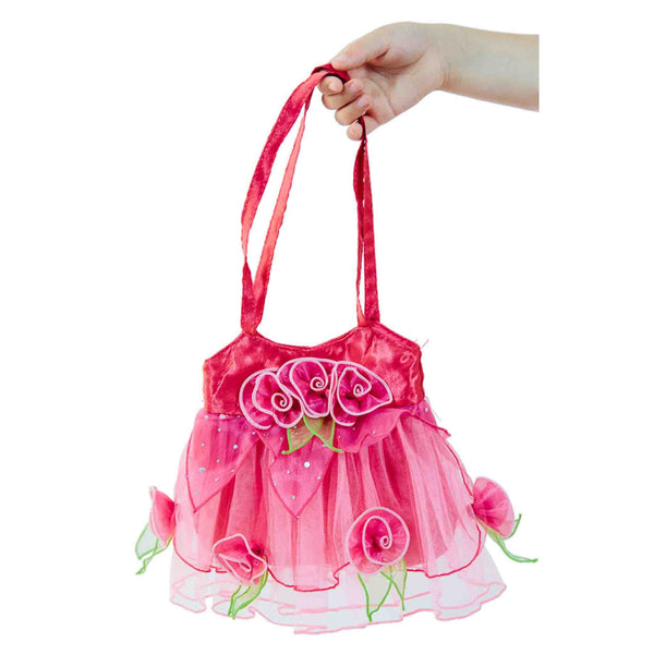 Bloom Tote Bag with Roses and Petals