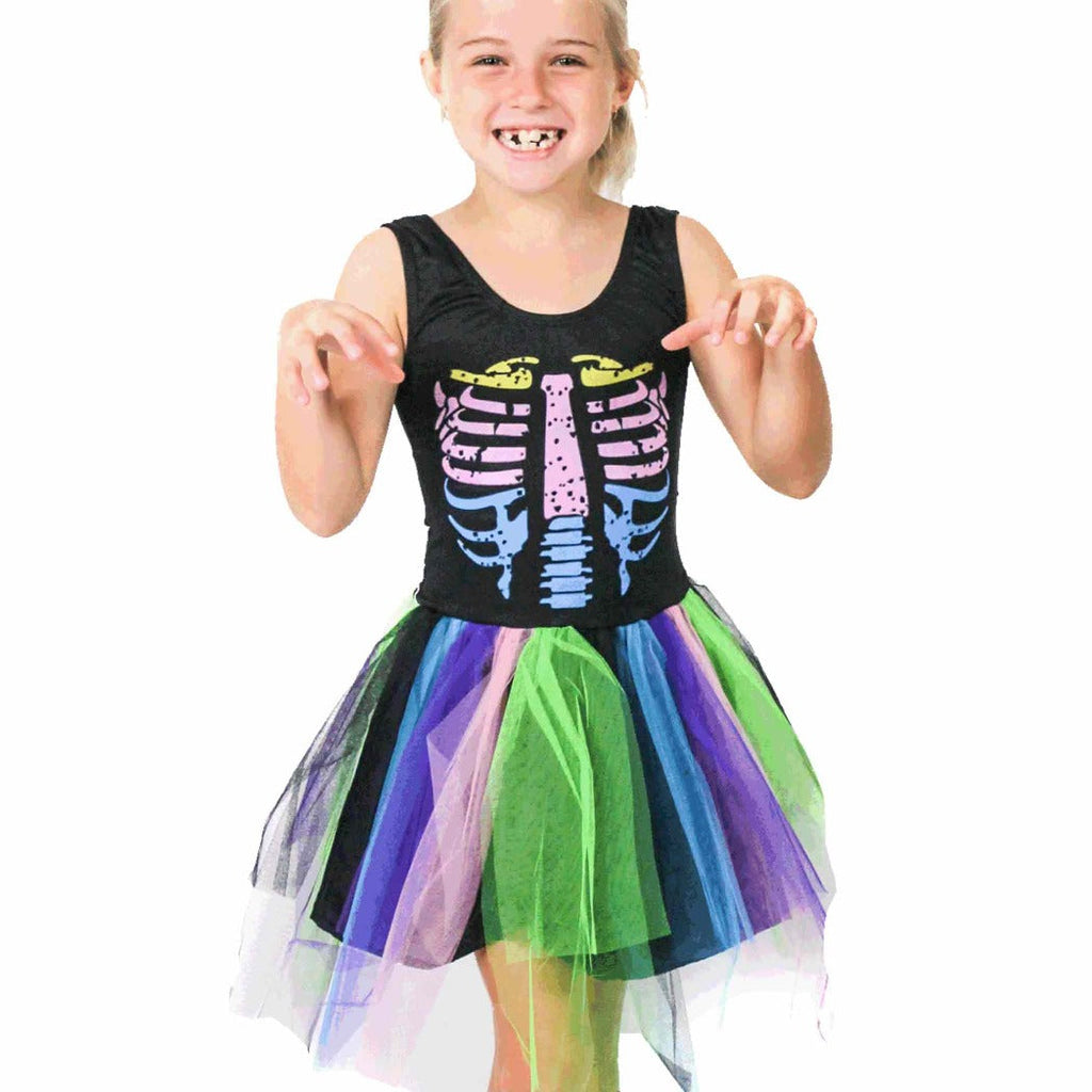 Rainbow Skeleton Dress
