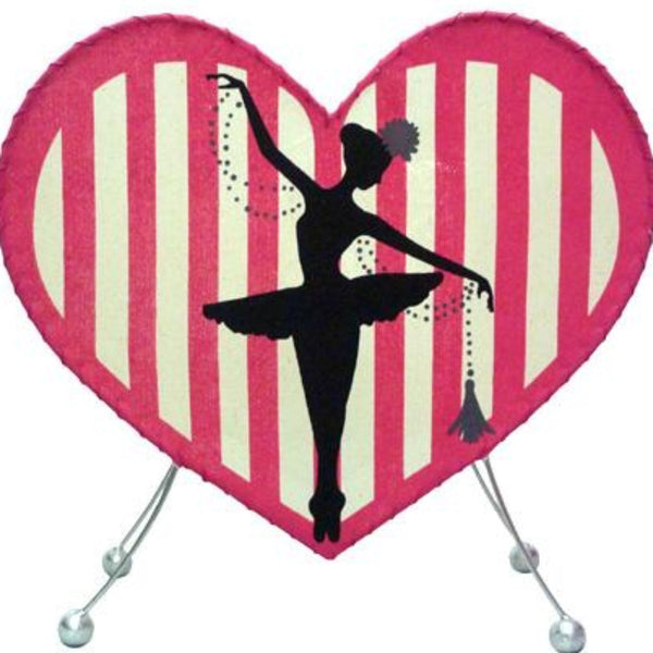 Heart Ballerina Lamp