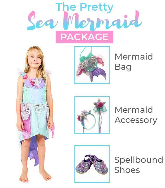 The Pretty Sea Mermaid package