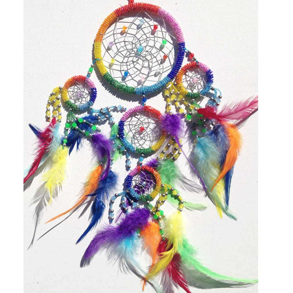 11cm Round Beaded Dreamcatchers