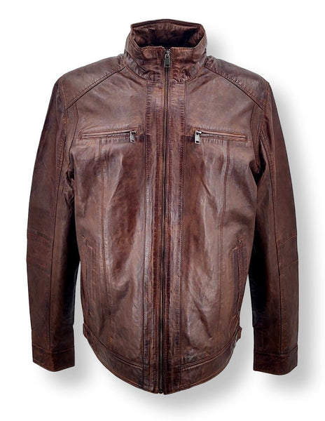 51540 - Lamb Leather - Man - Brown