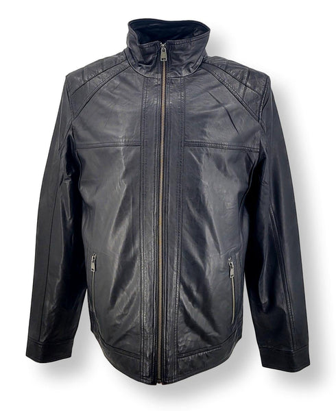 Breton - Lamb Leather - Man - Black
