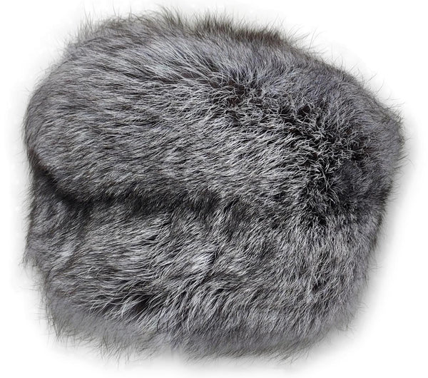 MFN 086 Hat - Silver Fox - Accesories - Nature (Hue) | STAMPE PELS
