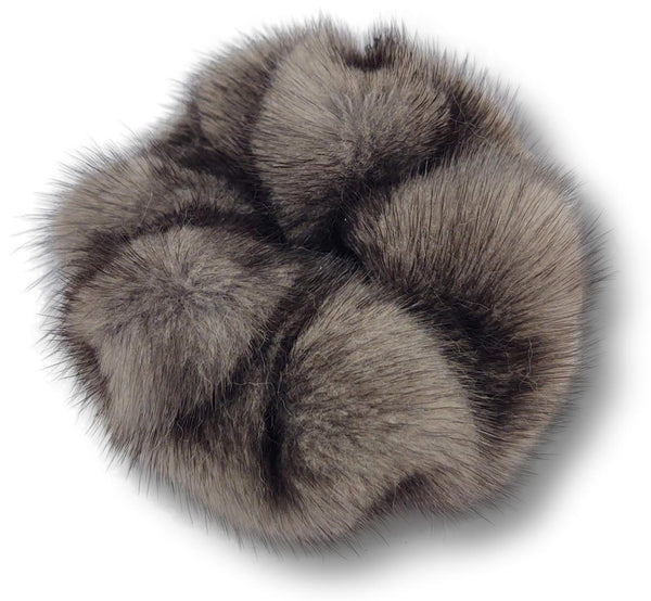 Hair Tie - Mink - Accesories - Steel Grey | STAMPE PELS