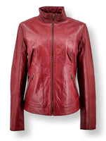 Gottec - Lamb Leather - Women - Red