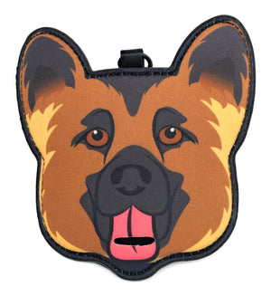 Pooty Pet Holder, German Shepherd, GSD, Dog Bag Holder, Poop Bag Holder, Dog Poop Bag Holder