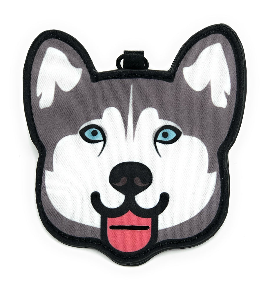 Pooty Pet Holder, Dog Bag Holder, Poop Bag Holder, Dog Poop Bag Holder, Biodegradable Poop Bags, Earth Friendly Poop Bags, Husky, Alaskan Malamute