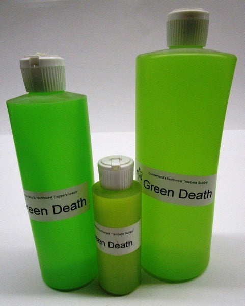 Green Death Bear and Raccoon Lure 4 oz