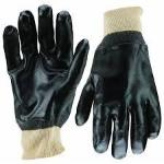 Gloves (wrist length) rubber